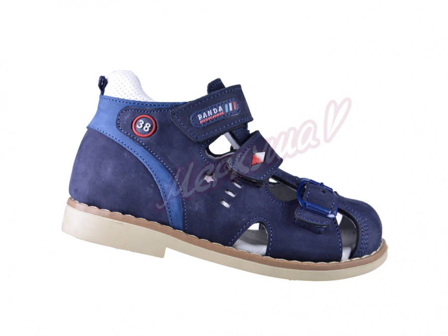 Босоножки  Panda orthopedic 0388-23, синий