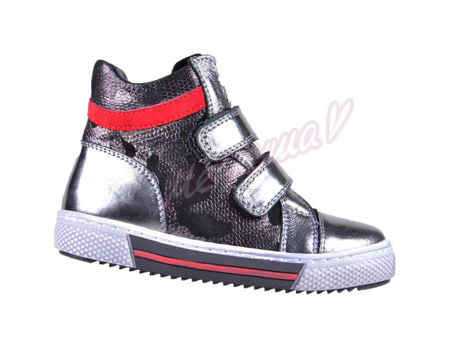 Ботинки K.Pafi 013-05, серебристый