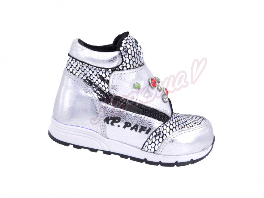 Ботинки K.Pafi 37051-3, серебристый