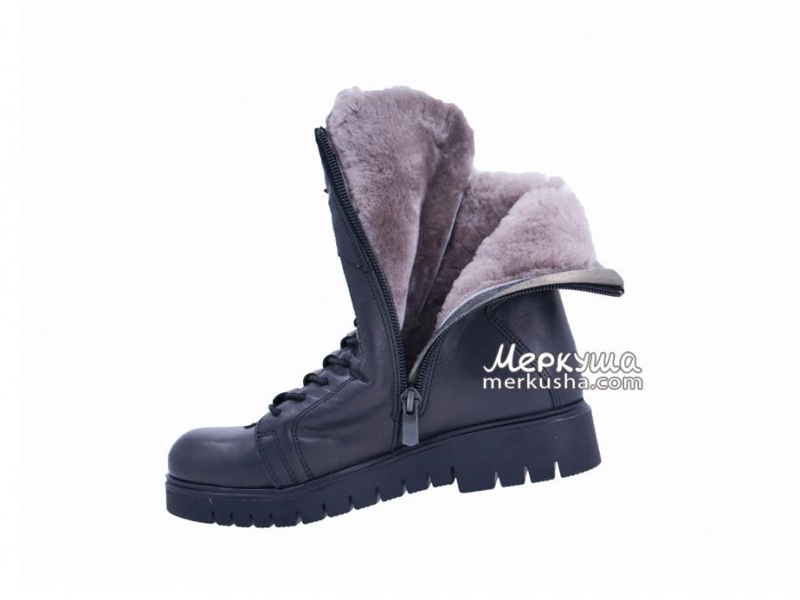 Ботинки K.Pafi 374-00-01, чёрный