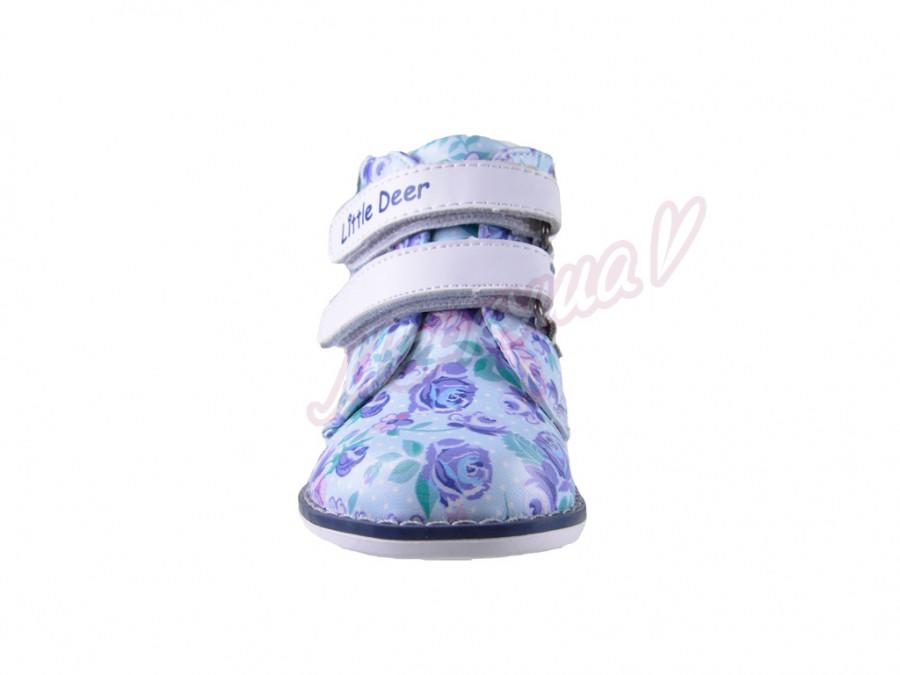 Ботинки LD216-518, голубой
