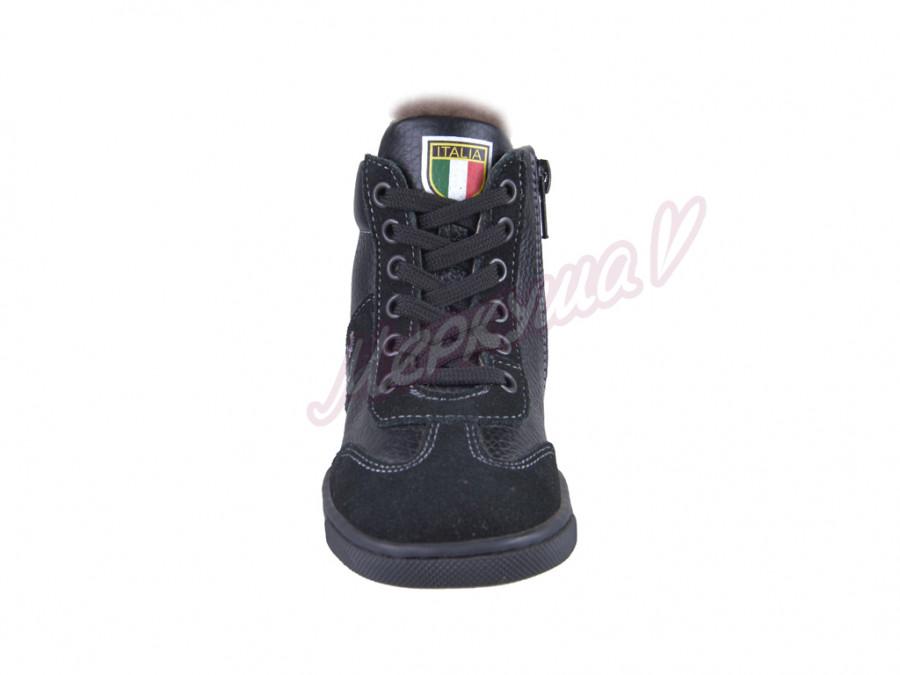 Ботинки зимние Ferrari zshB, чёрный