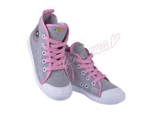 Кеды Nazo 030BA pink, серый