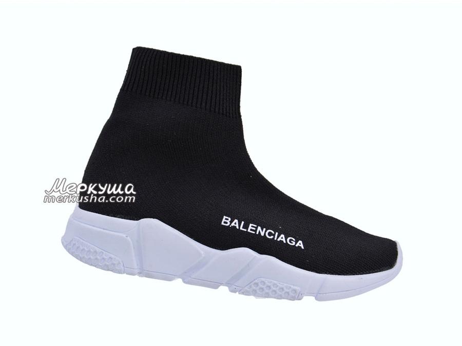 Кроссовки Balenciaga DSC0417, чёрный