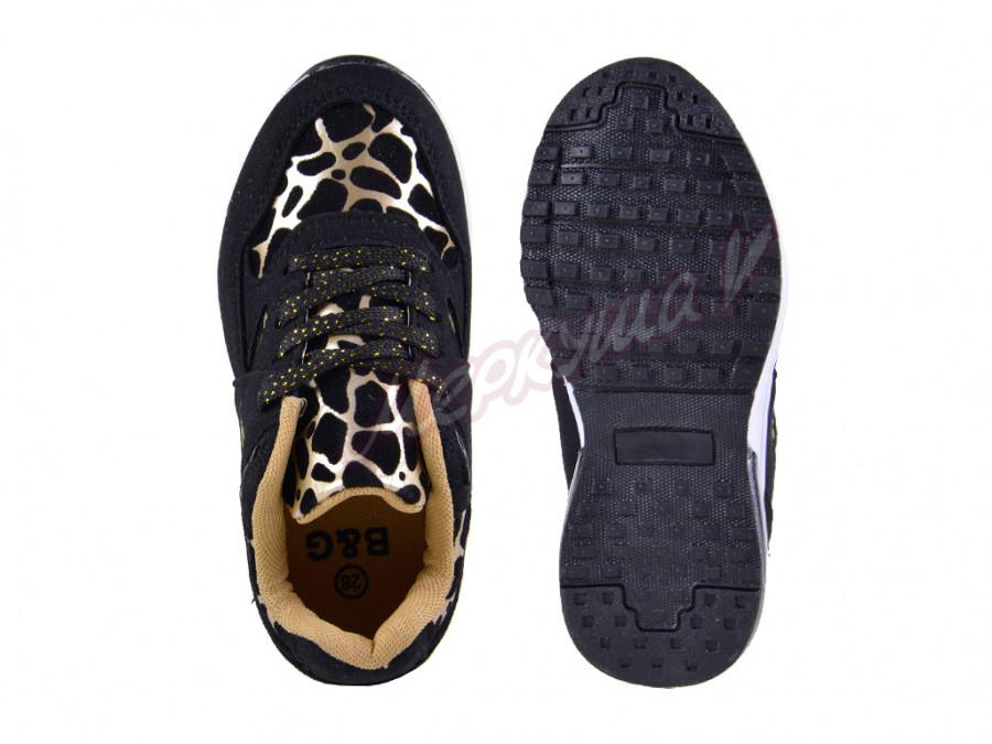 Кроссовки G1720-96, чёрный