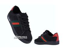Кроссовки Gucci DSC0340, чёрный