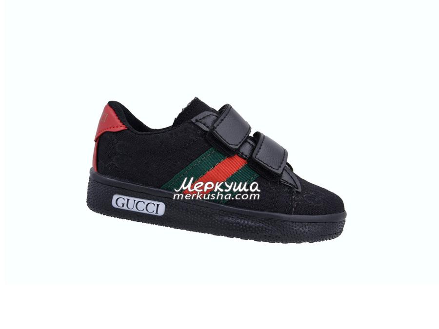 Кроссовки Gucci DSC0410, чёрный