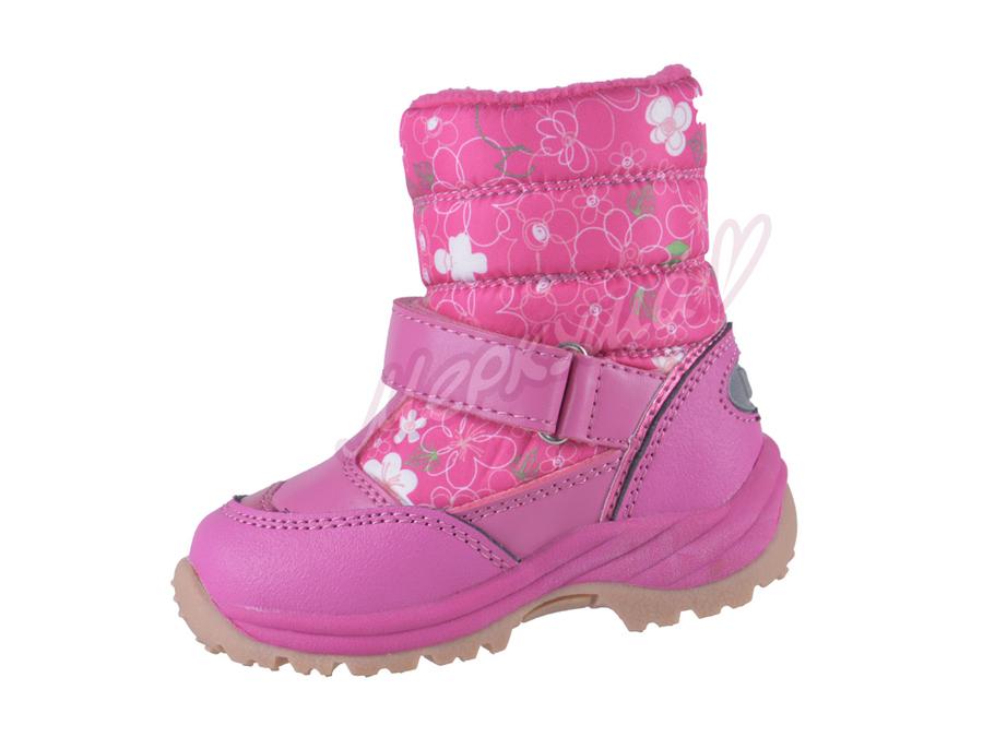 Термо ботинки BG RAY135-1183, розовый