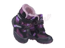 Термо ботинки BG RAY135-2316, фиолетовый