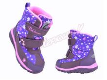 Термо ботинки BG187-55, фиолетовый