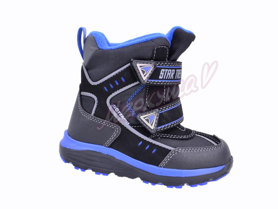 Термо ботинки BG187-58, чёрный