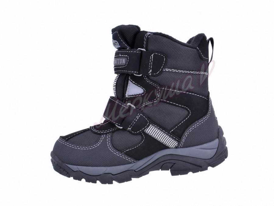 Термо ботинки BG187-60, чёрный