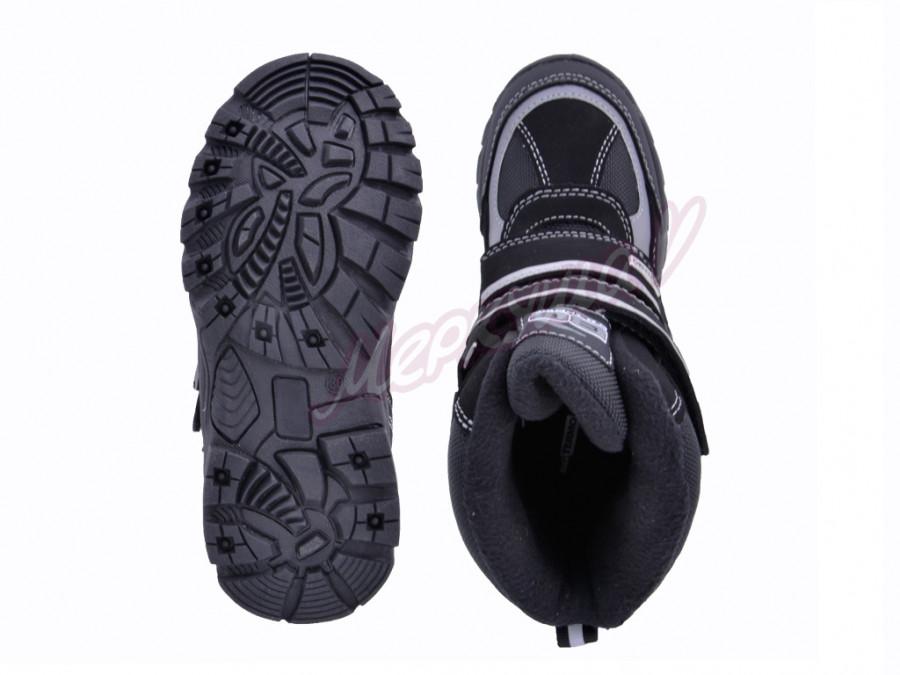 Термо ботинки BG187-61, чёрный