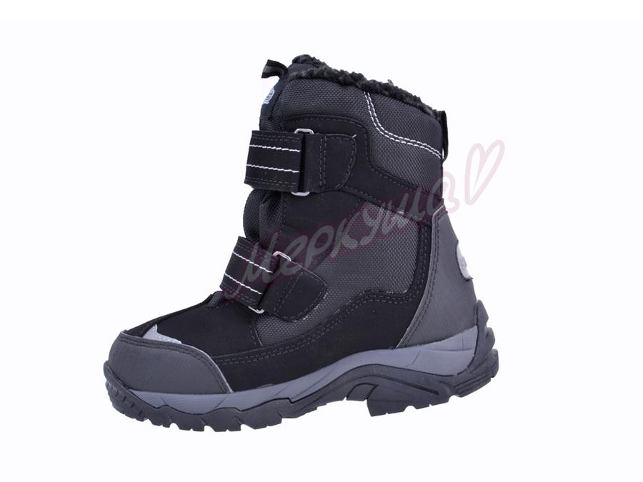 Термо ботинки BG187-62, чёрный