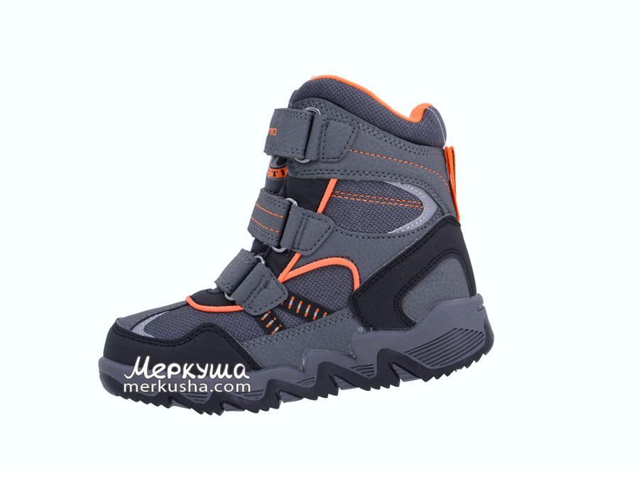 Термо ботинки EVS186-43, серый