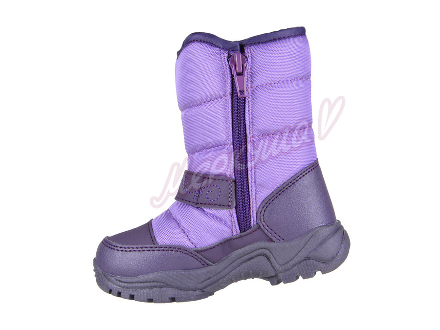 Термо ботинки R171-6022, сиреневый