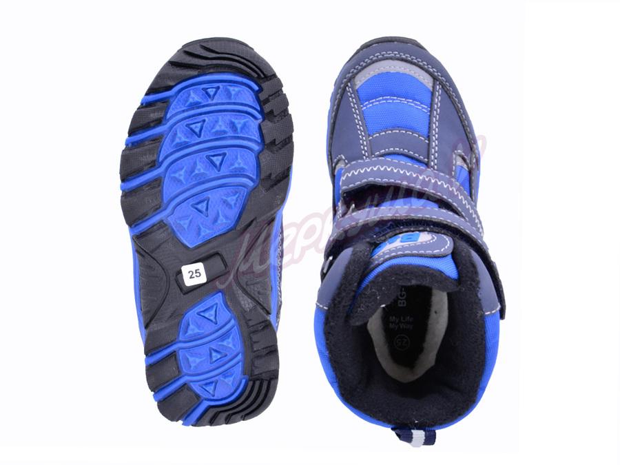Термо ботинки R181-6021, синий