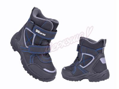 Термо ботинки R181-6030B, чёрный