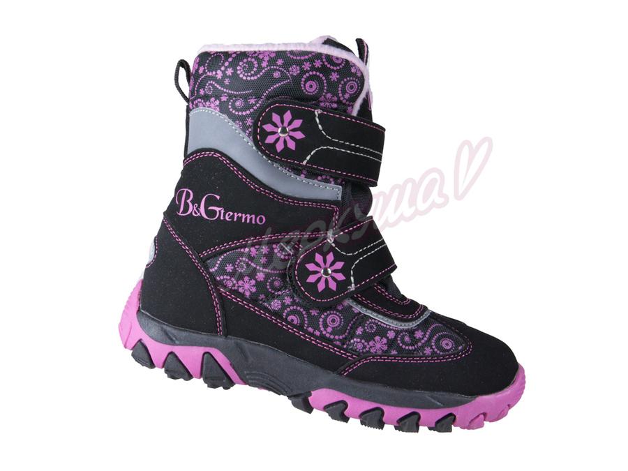 Термо ботинки RAY155-155, чёрный