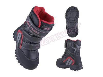 Термо ботинки RAY165-215, чёрный