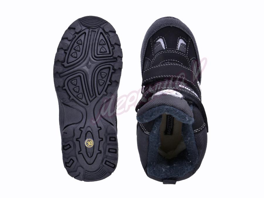 Термо ботинки ZTE17-017, чёрный