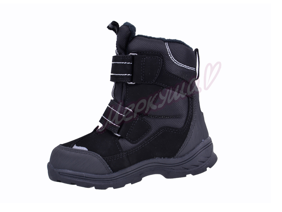 Термо ботинки ZTE17-101, чёрный