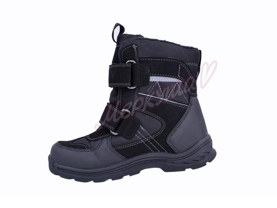 Термо ботинки ZTE17-105, чёрный