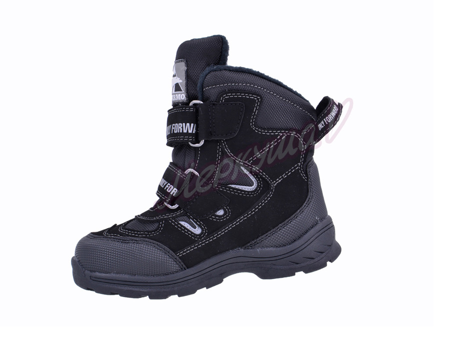 Термо ботинки ZTE17-106, чёрный