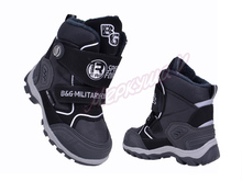 Термо ботинки ZTE17-583, чёрный