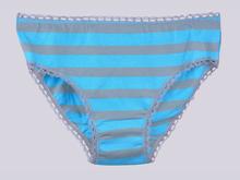 Трусики  BM40 Цветные полосы, синий
