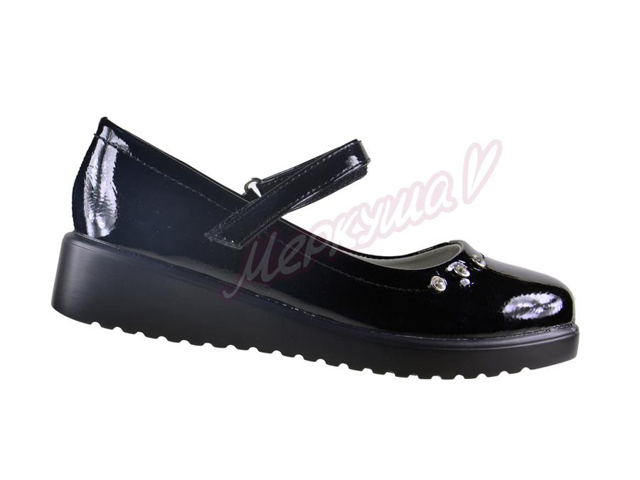 Туфли ZKK2817-41, чёрный