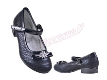 Туфли ZS2816-30, чёрный