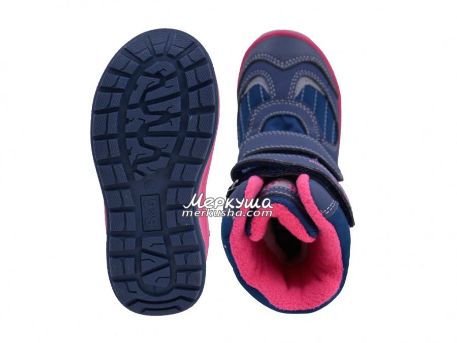 Термо ботинки BG R191-1204F