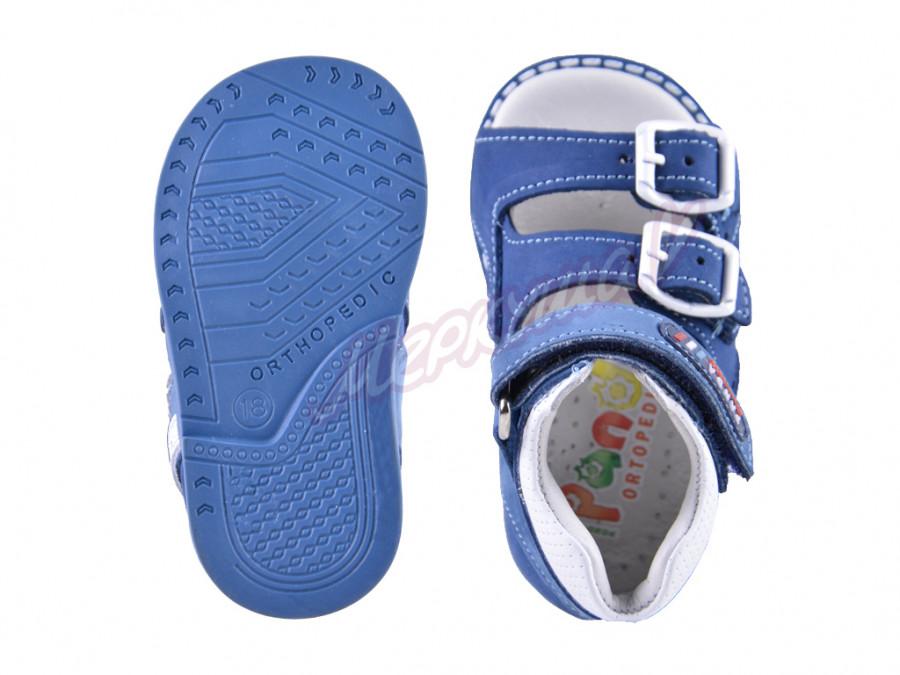 Босоножки Panda orthopedic 082-121-129-151, синий
