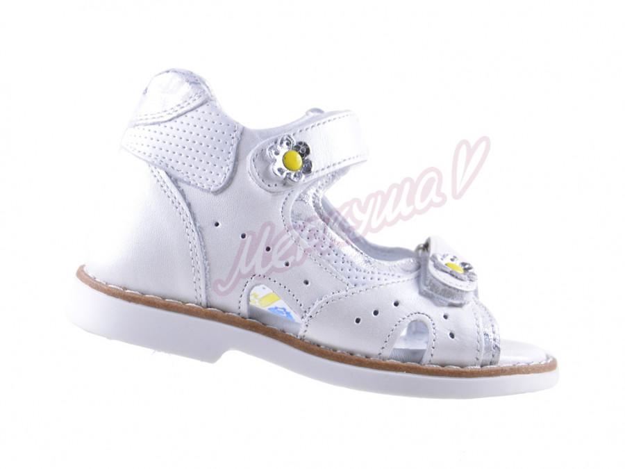 Босоножки Panda orthopedic 4082-27-411-151, белый