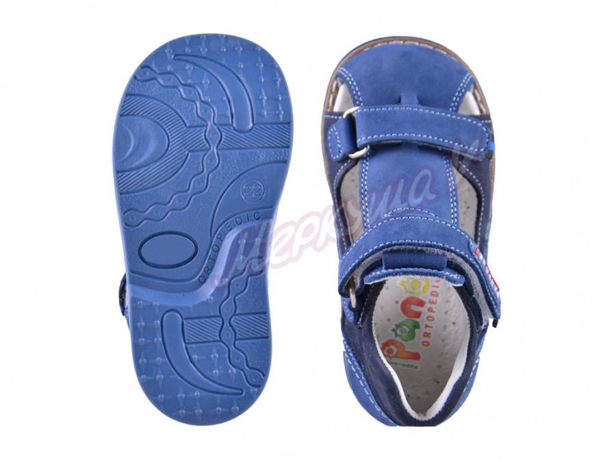 Босоножки Panda orthopedic 561-121-169-130, синий