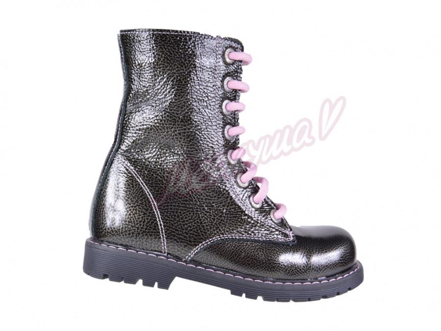 Ботинки DS Panda orthopedic 01226-26-10, черный-серый