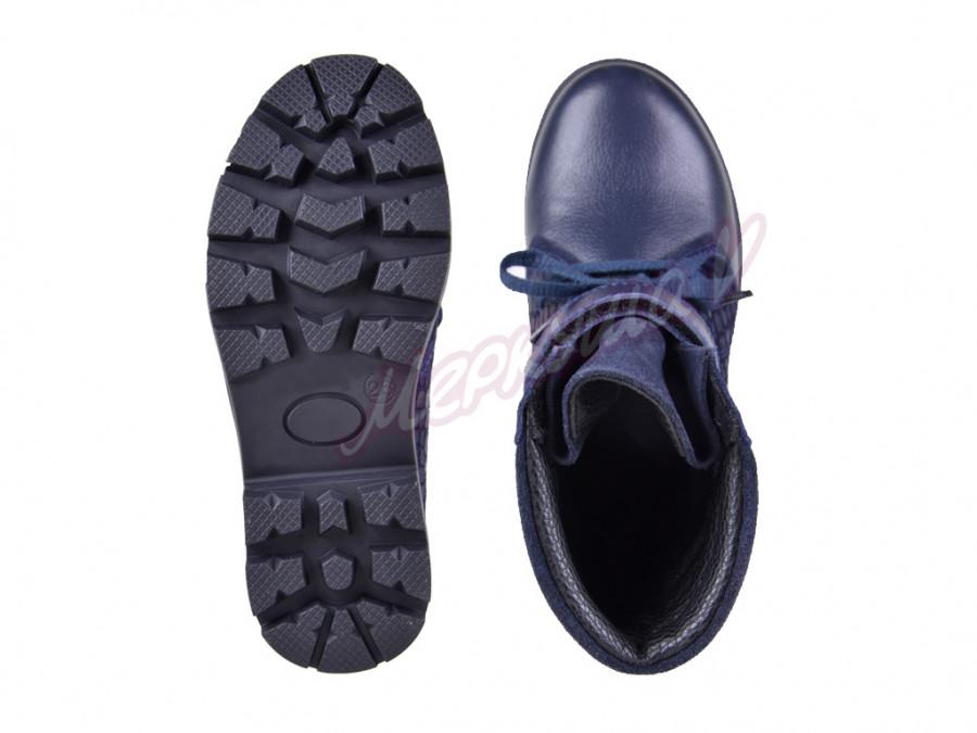 Ботинки DS Panda orthopedic 03372P-26-102, синий