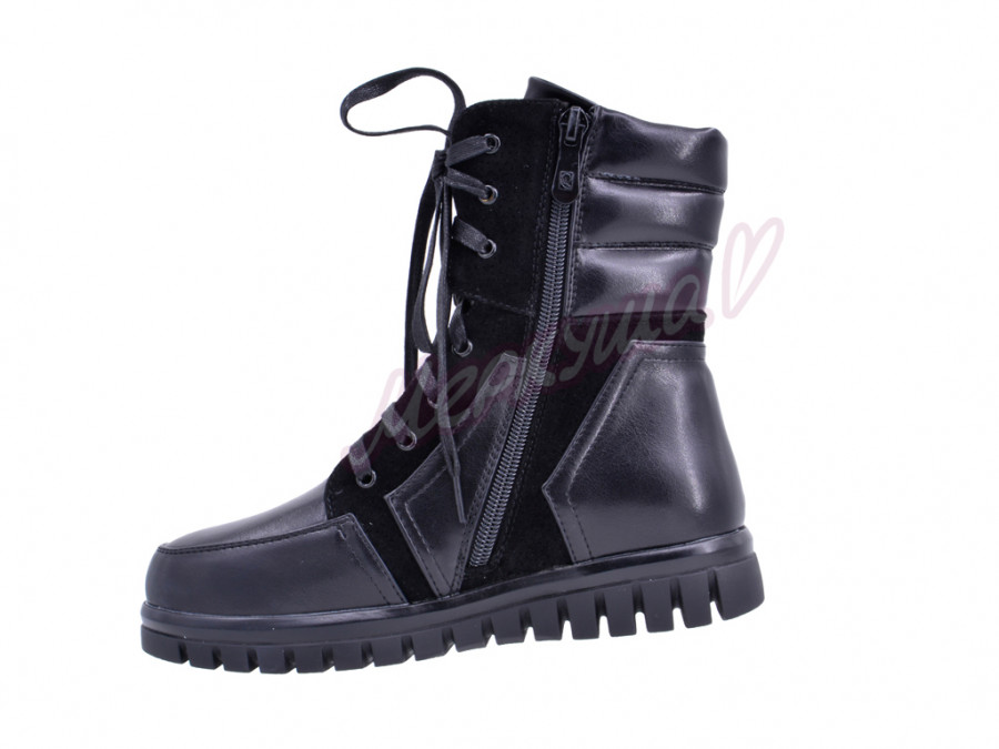 Ботинки KK170-307, чёрный