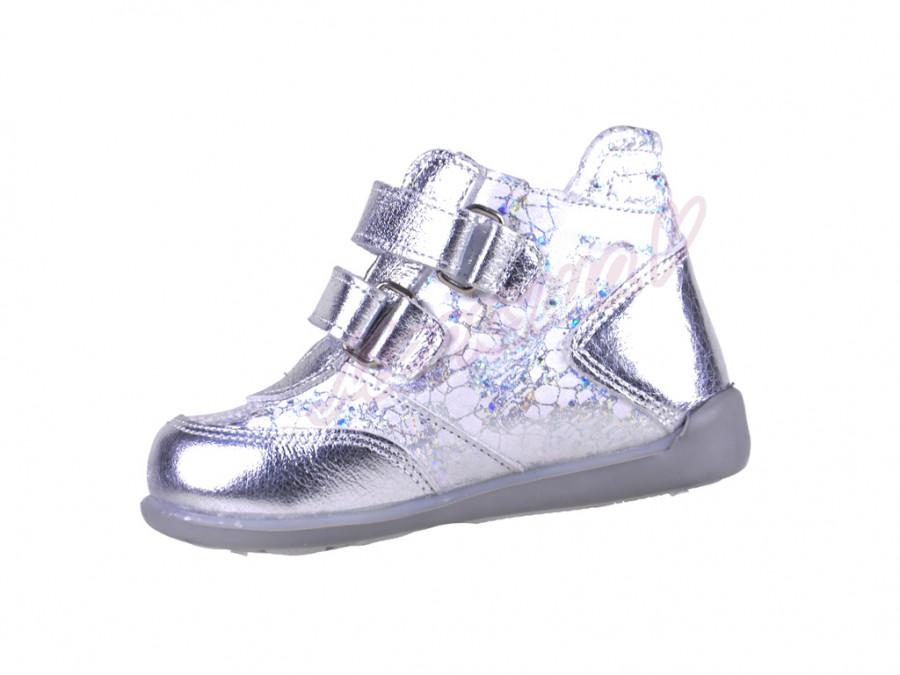 Ботинки Panda orthopedic 1011-429, серебристый