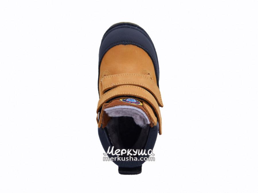 Ботинки Panda Orthopedic 500-323, коричневый