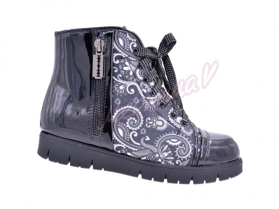Ботинки ZKK2817-45, чёрный