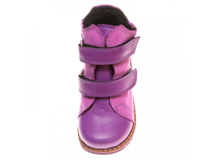 Ботинки д/с 075B(1)сиреневые (21-25)