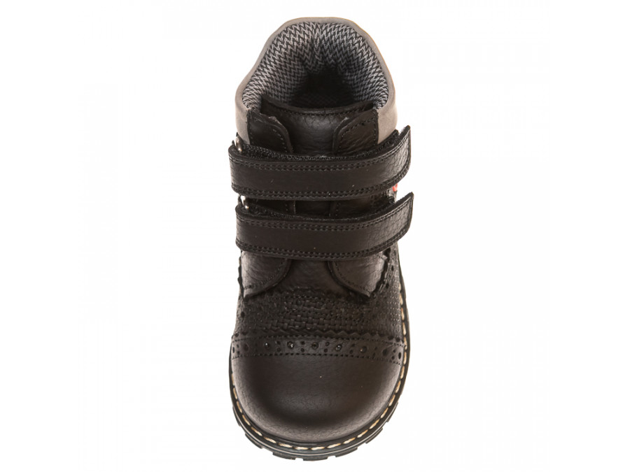 Ботинки д/с 081B(2)черные(21-25)