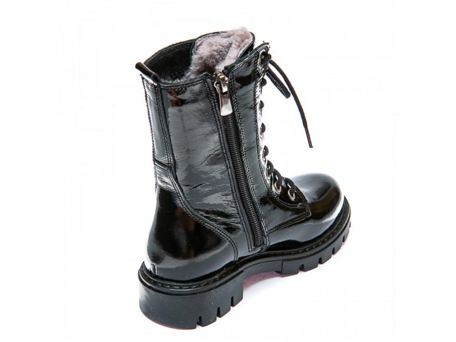 Ботинки зима 110(34)лак(28-30)
