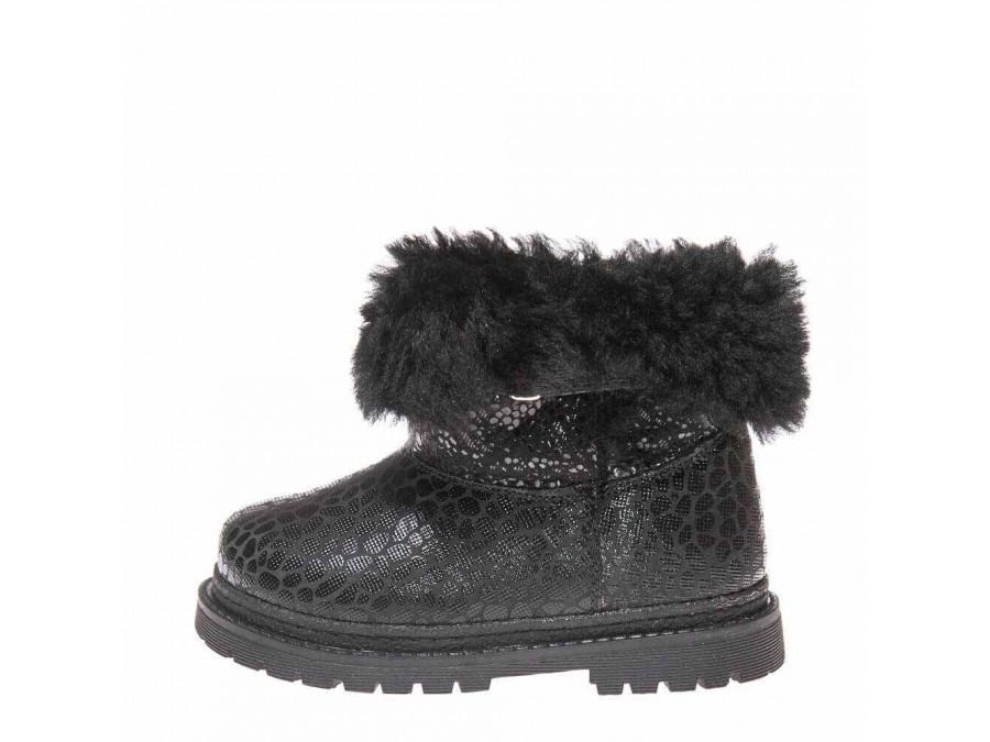 Ботинки зима 1300(335) чёрные