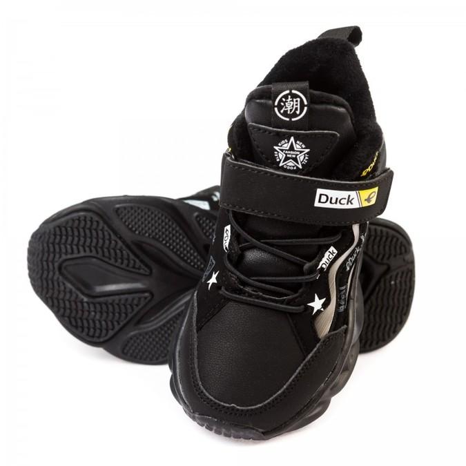 Кроссовки 2310 черные(26-30) KT