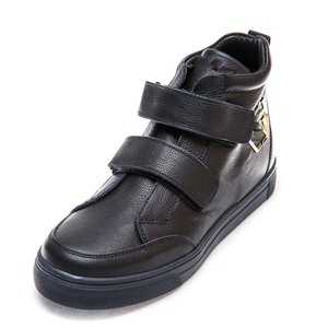 Ботинки д/с 345PP 2 липучки син.(31-36)