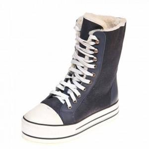 Pegas зима ботинки 4815 синяя дубл.