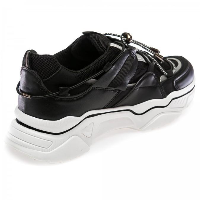 Кроссовки Fashion 66-1(36-41) черные